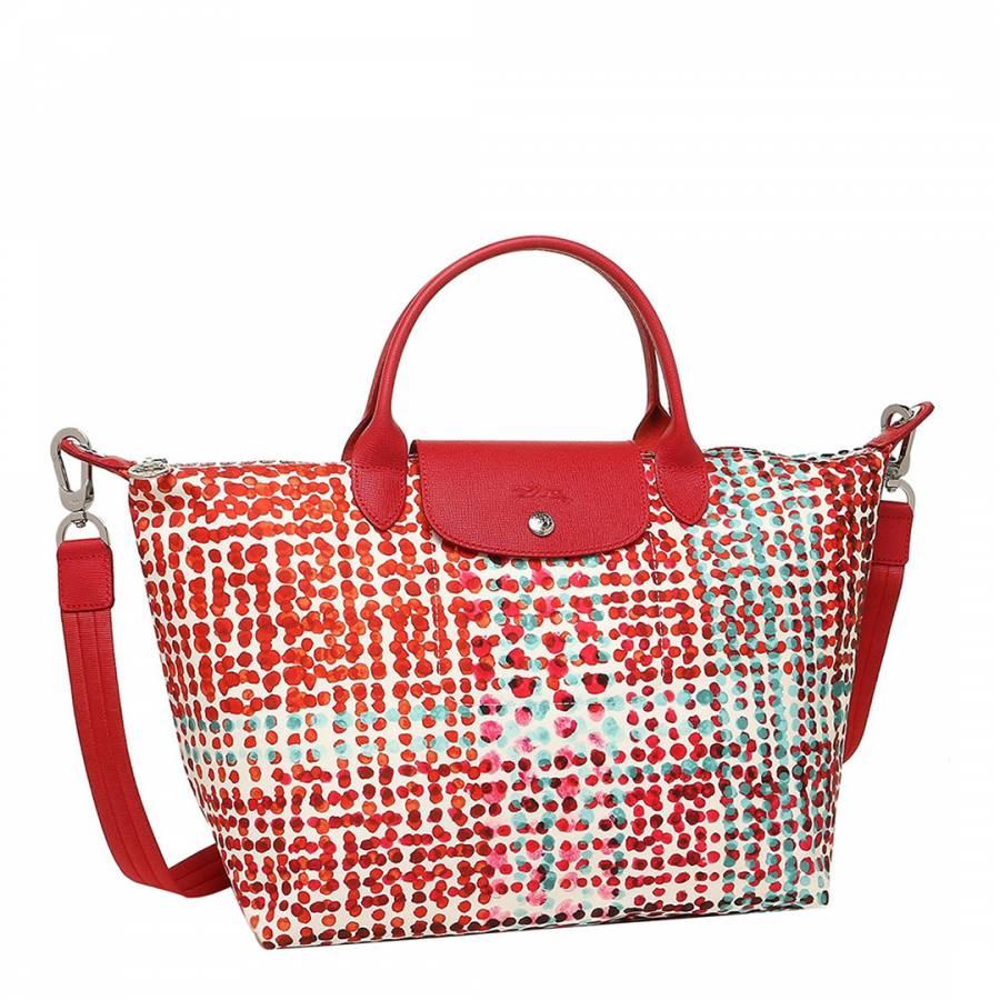 8926a6478eb0 Red Medium Le Pliage Neo Fantaisie Bag - BrandAlley
