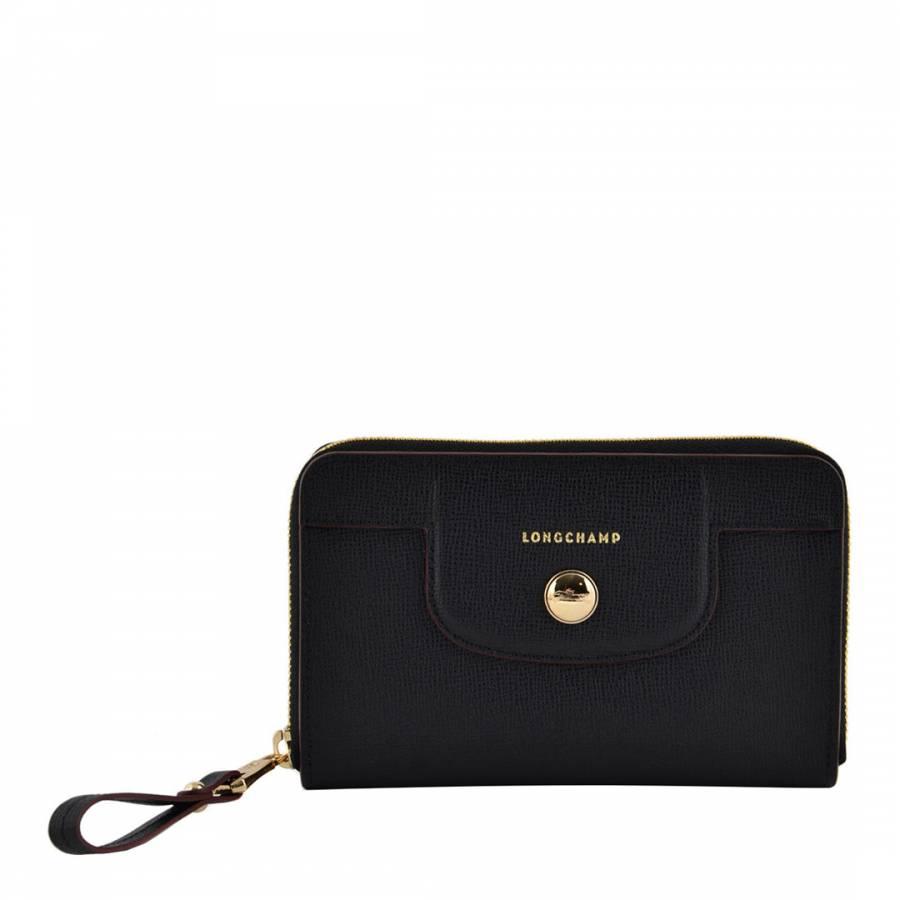 Navy Medium Le Pliage Neo Fantaisie Bag Brandalley Longchamp Black Authentic