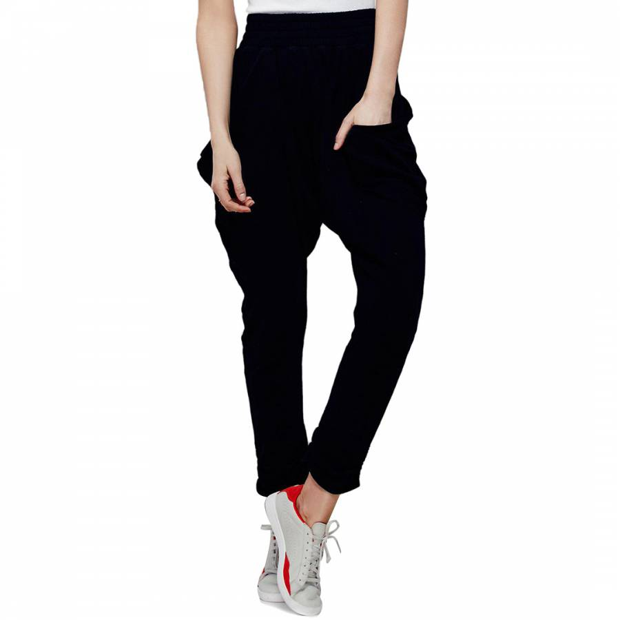 get cheap another chance picked up Black Echo Harem Trousers - BrandAlley