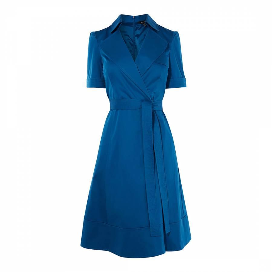 ee662baa9b1 Karen Millen Blue Trench Dress