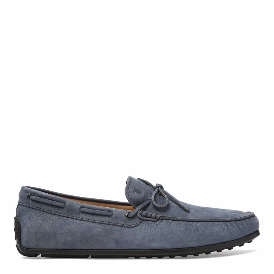 f90c182ff2d Men's Blue Captain Leather Loafers - BrandAlley