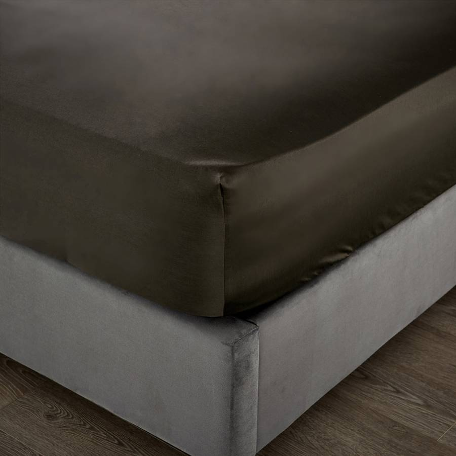 Image of 1000TC Double Deep Fitted Sheet Platinum
