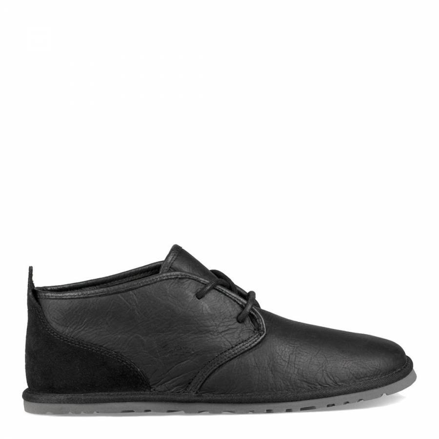 e8c75e233d2 UGG Black Leather Maksim Boots
