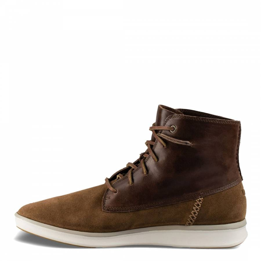 2b5c7c314b9 Chestnut/Brown Suede/Leather Lamont Boots - BrandAlley