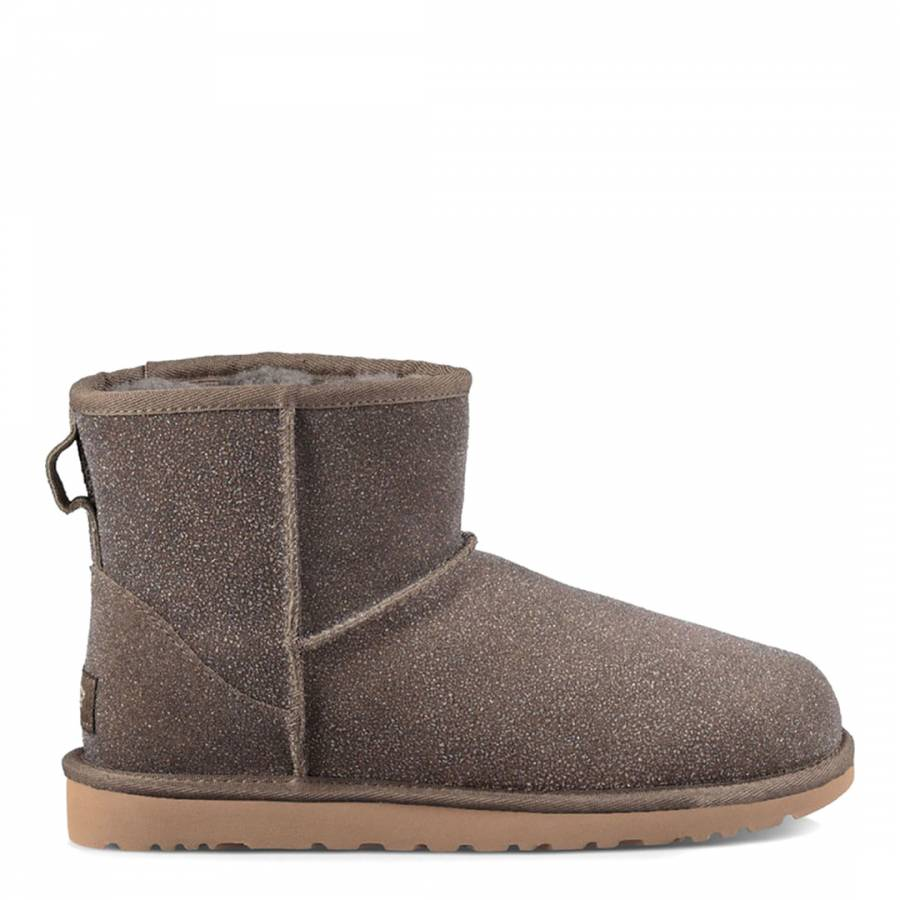 stormy grey suede classic mini serein boots brandalley rh brandalley co uk