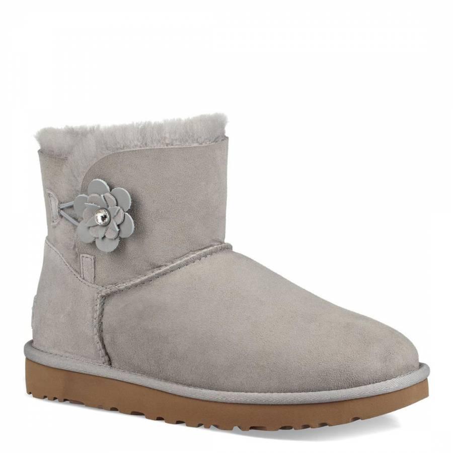seal grey suede mini bailey petal boots brandalley rh brandalley co uk