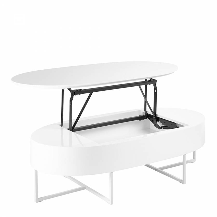 White Lift Up Coffee Table.Pod Lift Up Coffee Table White Brandalley