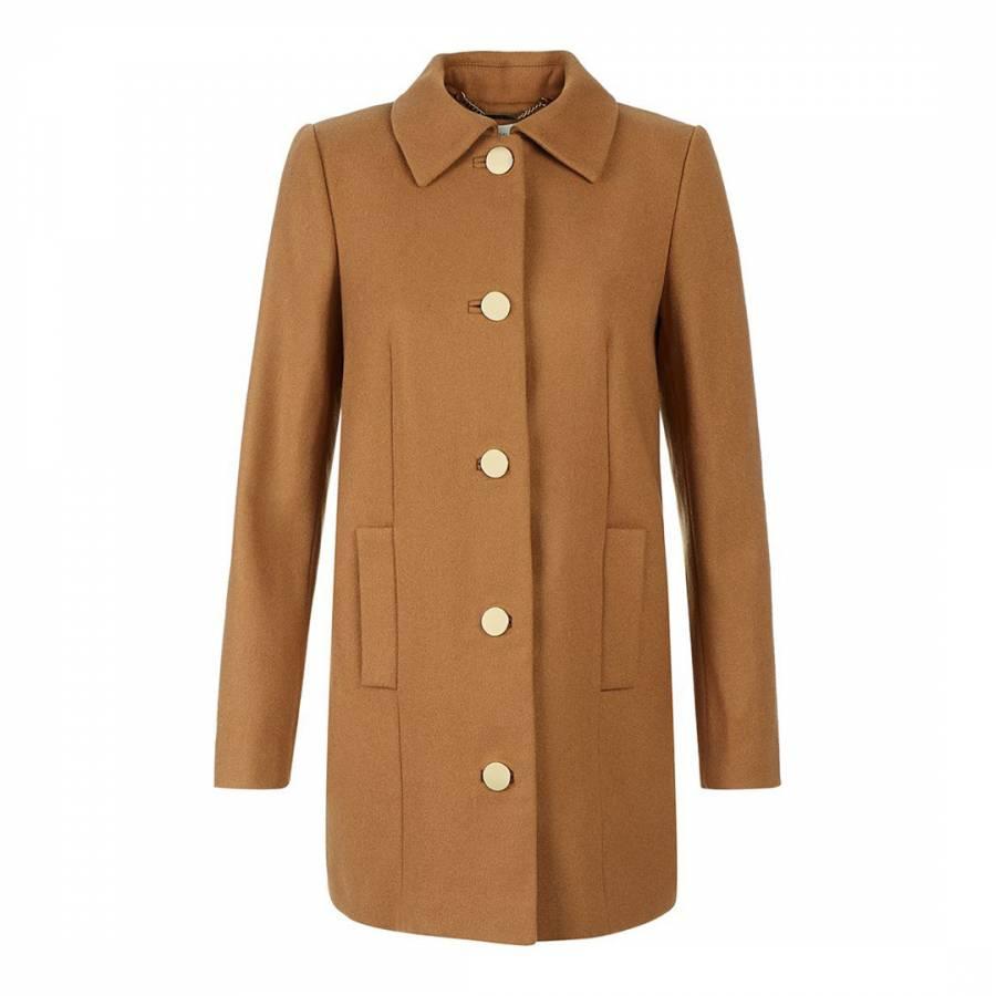 f77b08f28a Hobbs London. Camel Highgate Coat