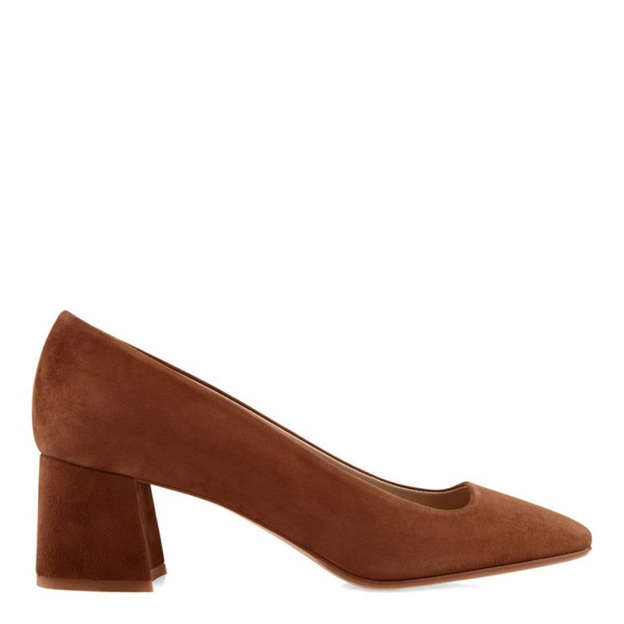 a254686ae22b3 Grey Leather Jess Slingback Shoes - BrandAlley
