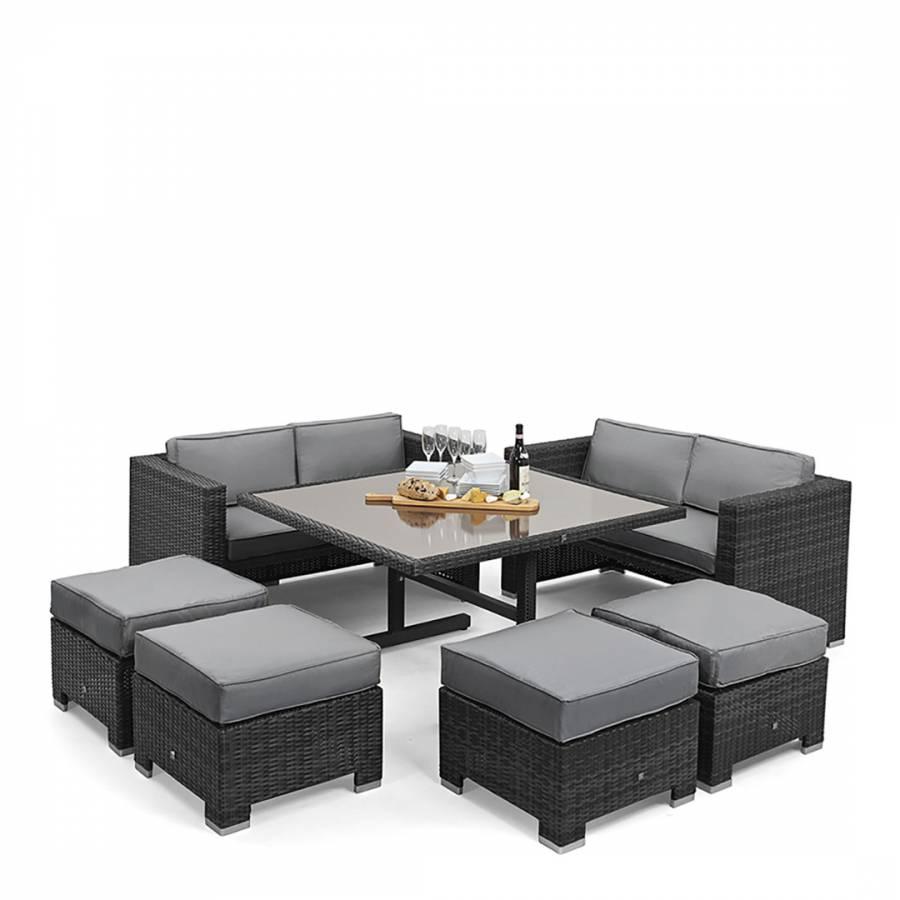 135887971c0b Cube Sofa Set, Grey - BrandAlley