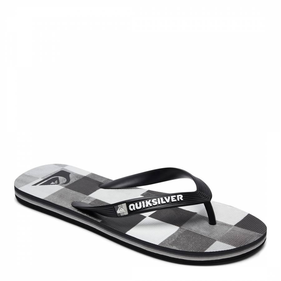 f918a392c36d MOLOKAIRESINCHK M SNDL XKWS Black White Basic Sandal - BrandAlley