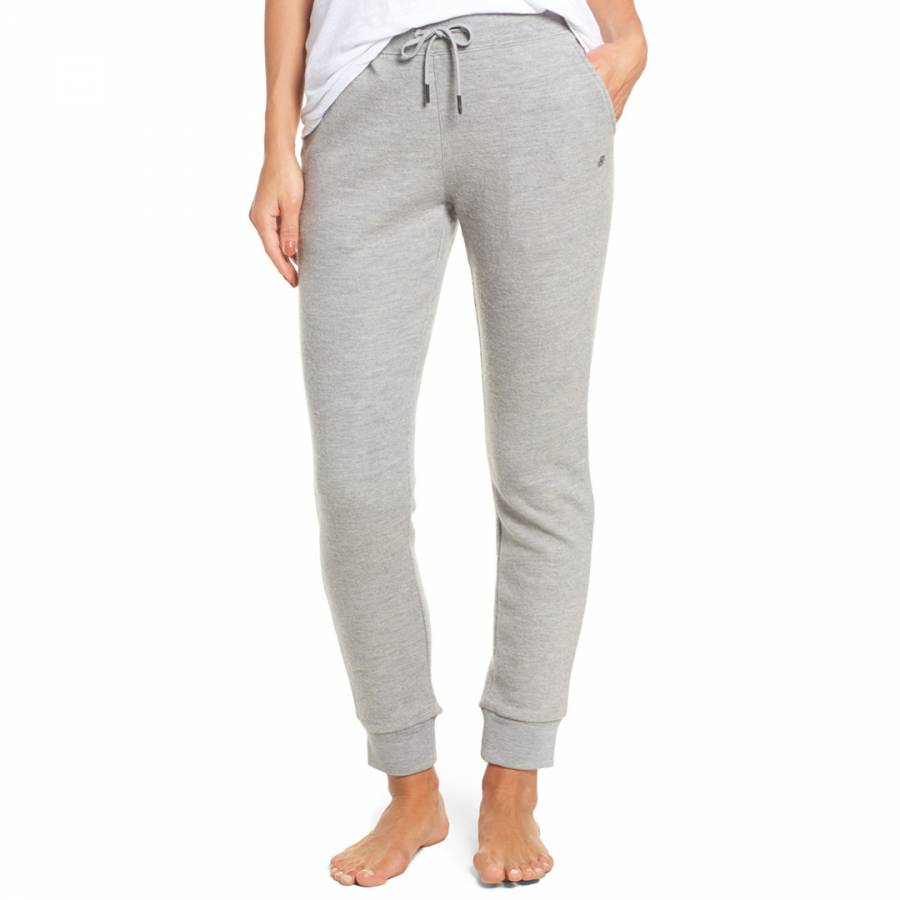 how to buy wide selection of designs choose best Women's Grey Heather Wool Jersey Knit Jogger