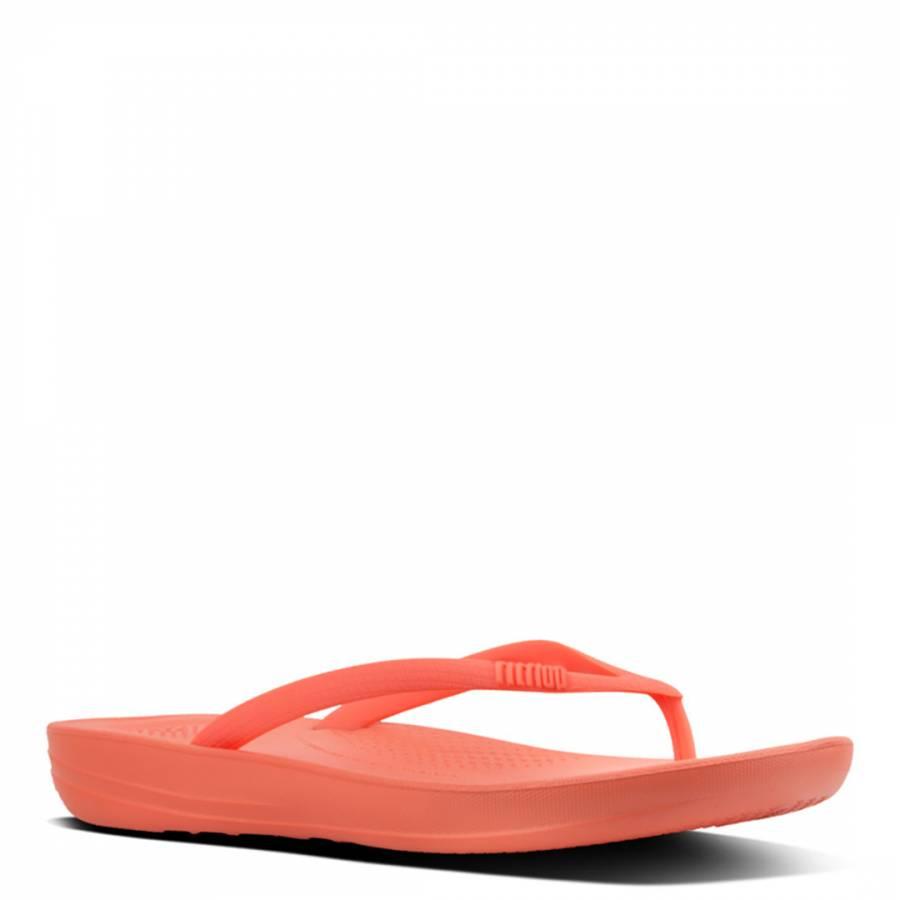 be1789863 Women s Coral iQushion Ergonomic Flip Flops - BrandAlley