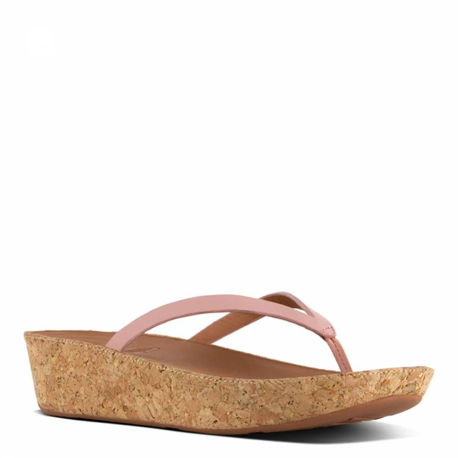 da7977097adeca Women s Dusky Pink Leather Linny Toe Post Sandals - BrandAlley