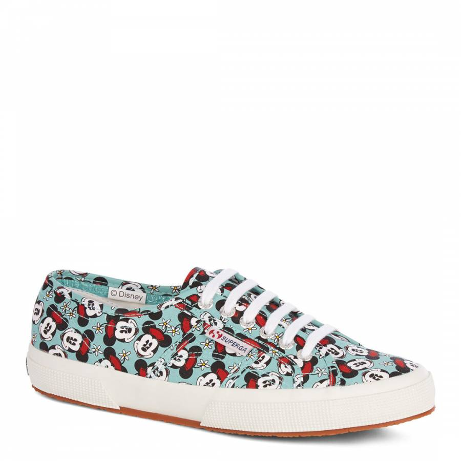 great quality new appearance best sale Superga Women's Malachite Minnie Mouse 2750 Trainers