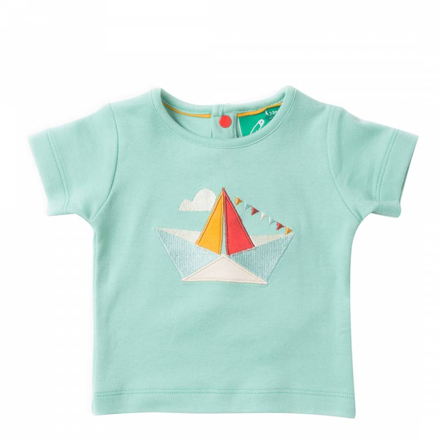 Origami boat applique top brandalley - Applique origami ...