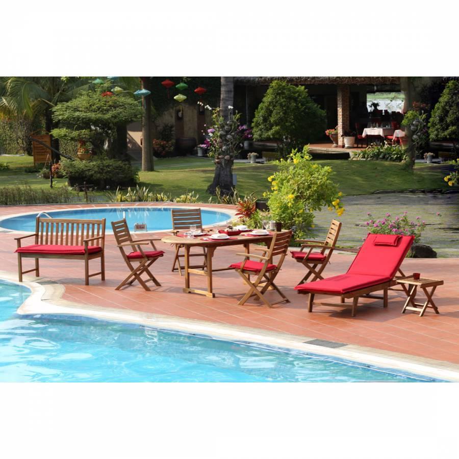 Zoom · norfolk leisure provence 14 piece garden furniture set
