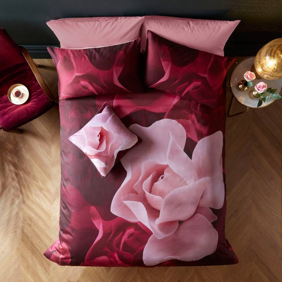 b294f7375ca Ted Baker Porcelain Rose Double Duvet Cover
