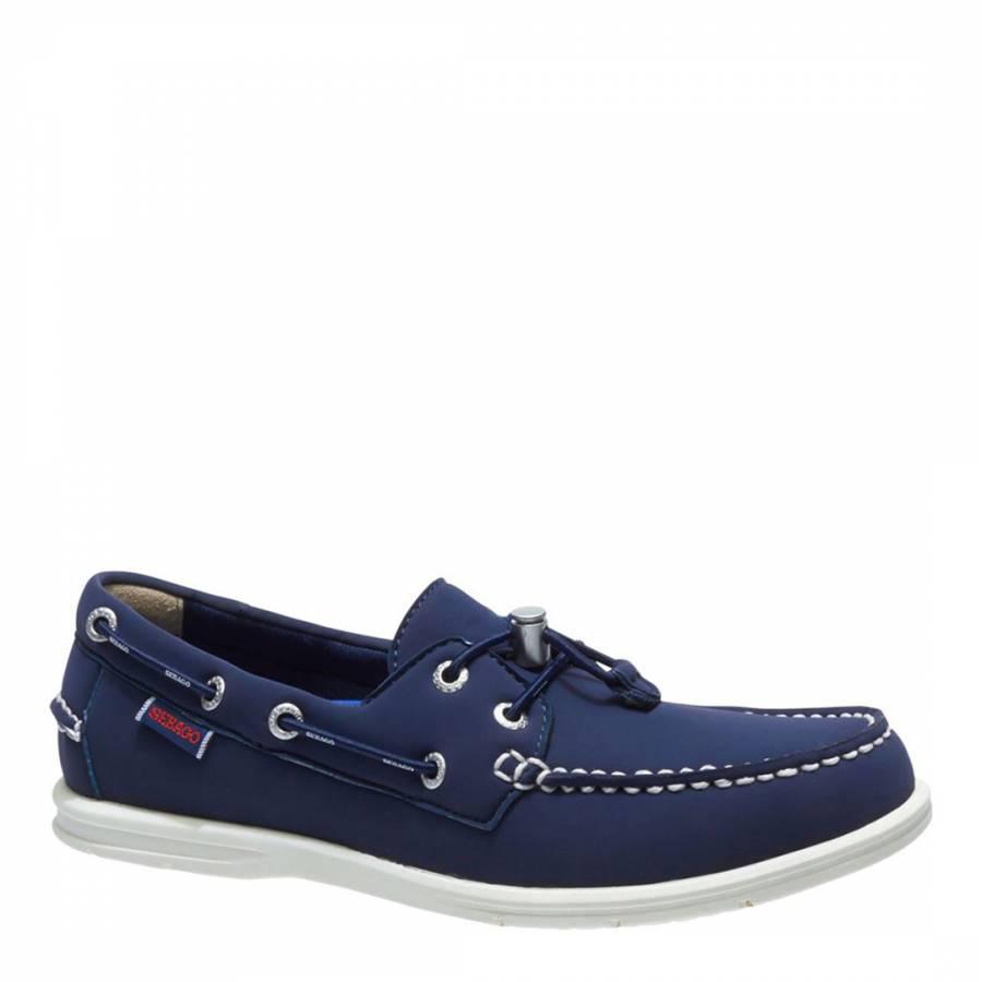 Elastic Shoes Navy Little Boys Size