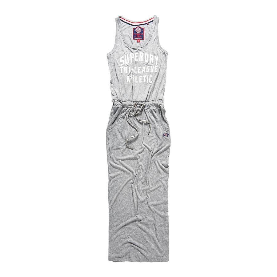 bde5704577be Skyscraper Grey Marl Tri League Maxi Dress - BrandAlley