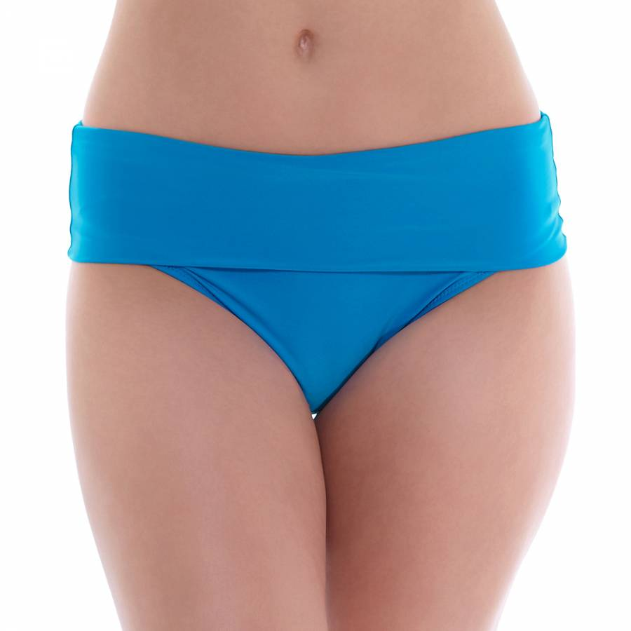 89bcdfe003a25 China Blue Versailles Deep Gathered Brief - BrandAlley