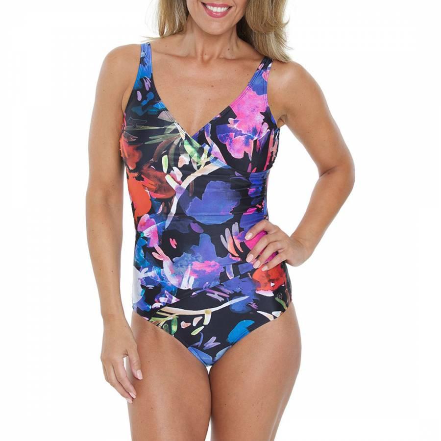 f273062e820a6 Zoom · Seaspray Blue/Multi Rio Wrap Strap Swimsuit