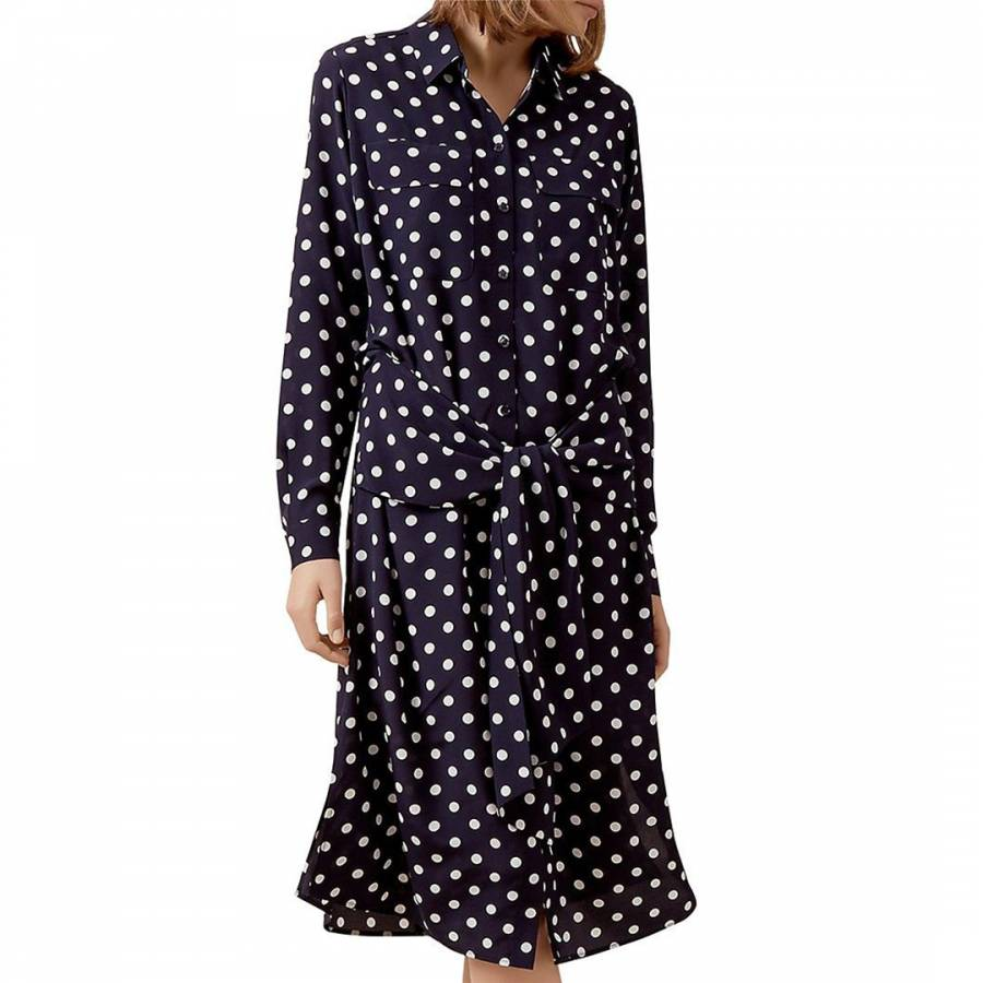 f932089ed1ce Hobbs London Navy/Ivory Lucy Dress