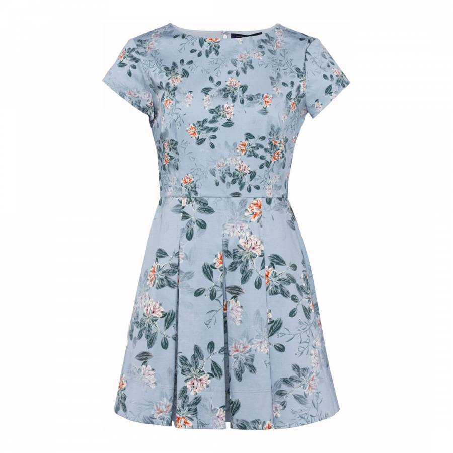 83721782cb3 French Connection Kioa Cotton Flared Dress