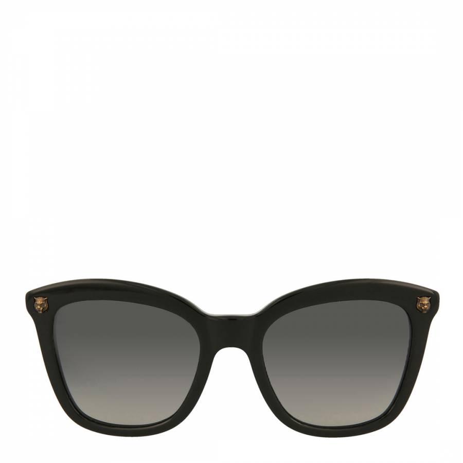 7b040ca8156 Womens Gucci Black Grey Sunglasses 50mm - BrandAlley