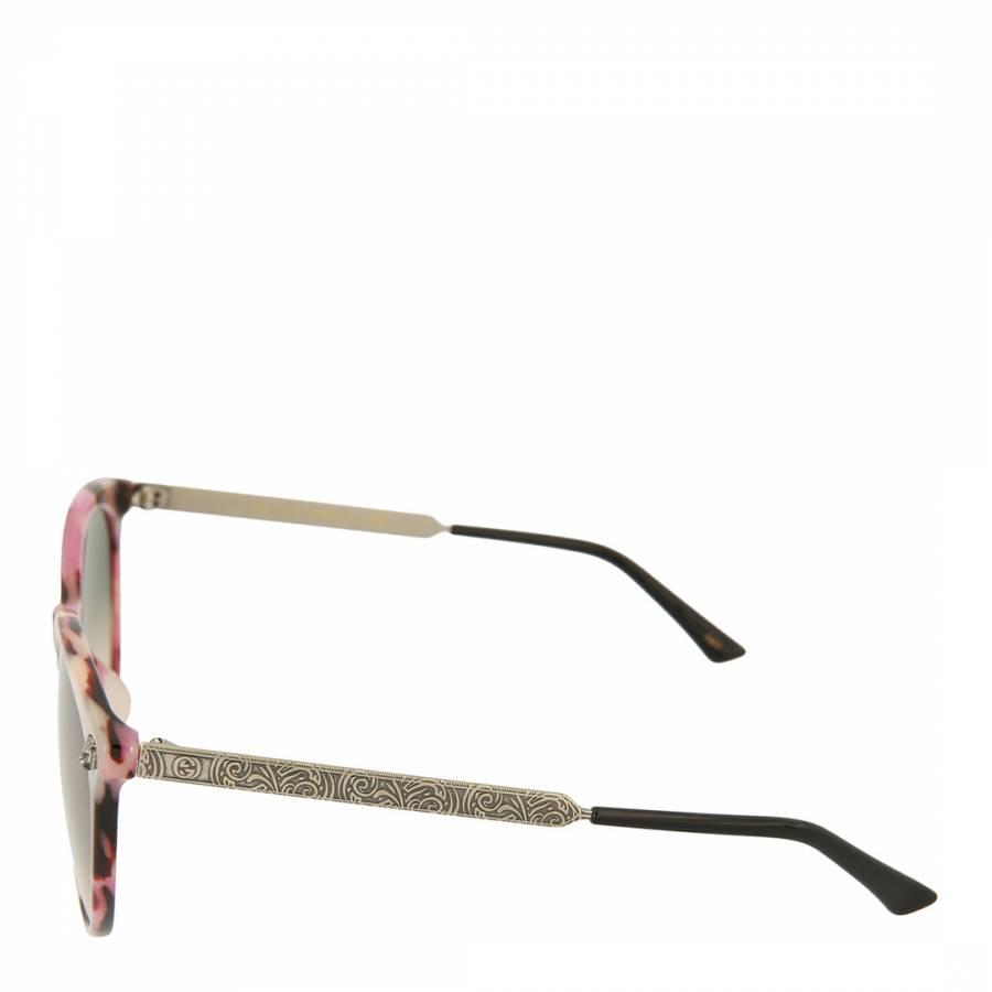 ba61106c537 Womens Gucci Havana Green Sunglasses 50mm - BrandAlley