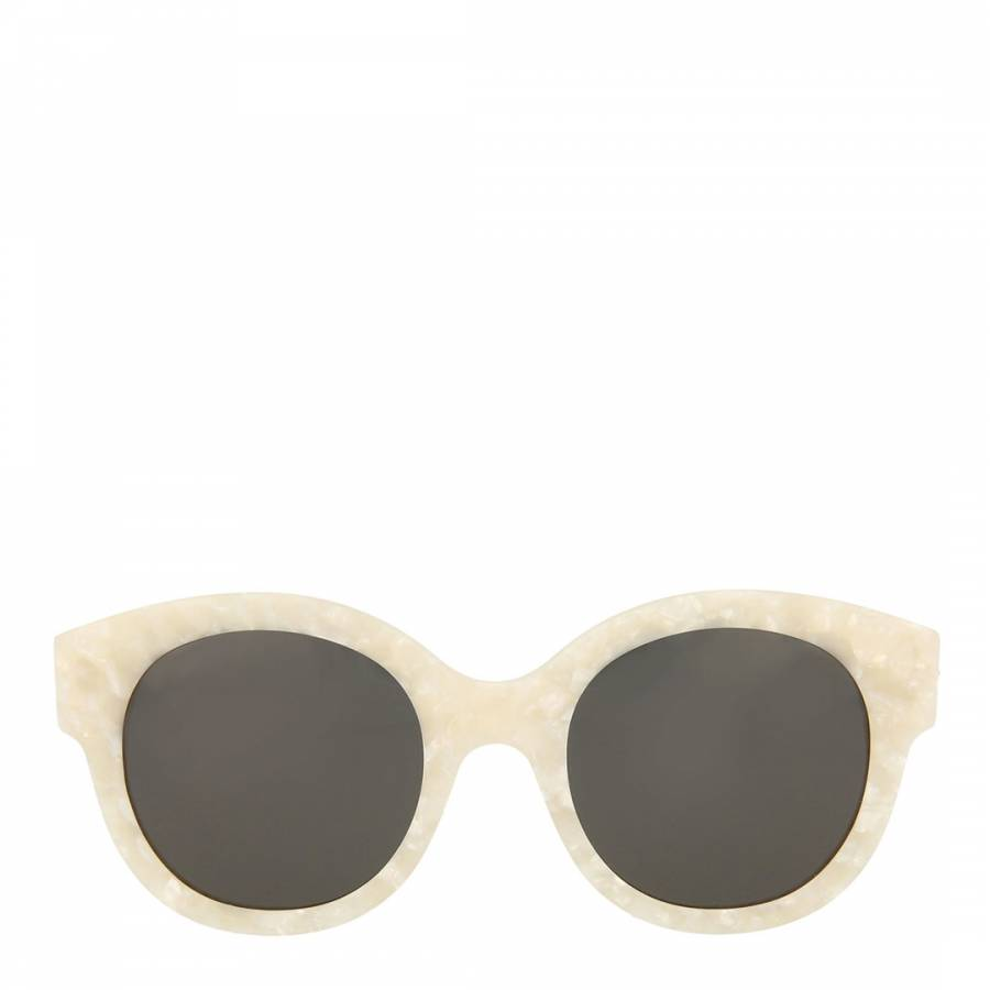 ecb8a2bbffa Gucci Womens Gucci Ivory Grey Sunglasses 51mm. prev. next. Zoom