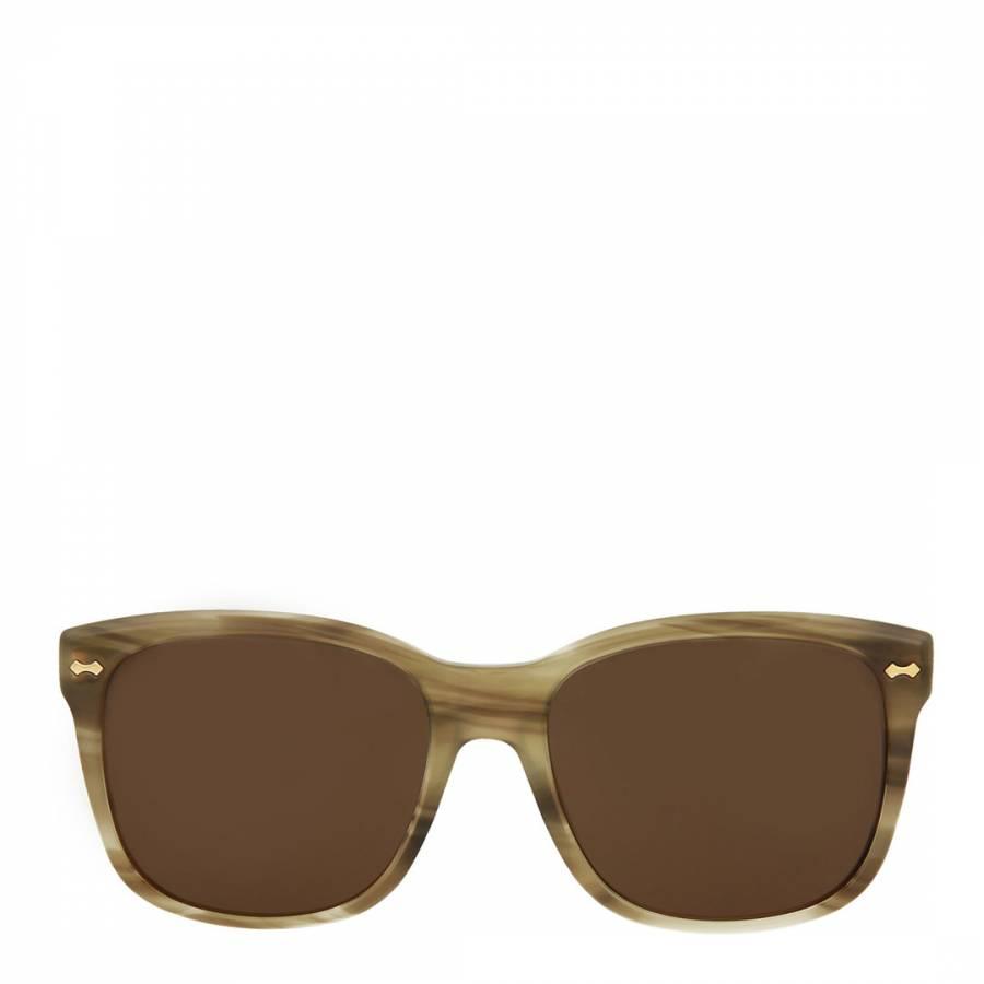 996b8c2ef67 Womens Gucci Brown Sunglasses 49mm - BrandAlley