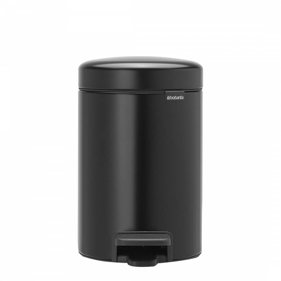 Image of Matt Black NewIcon Pedal Bin 3L