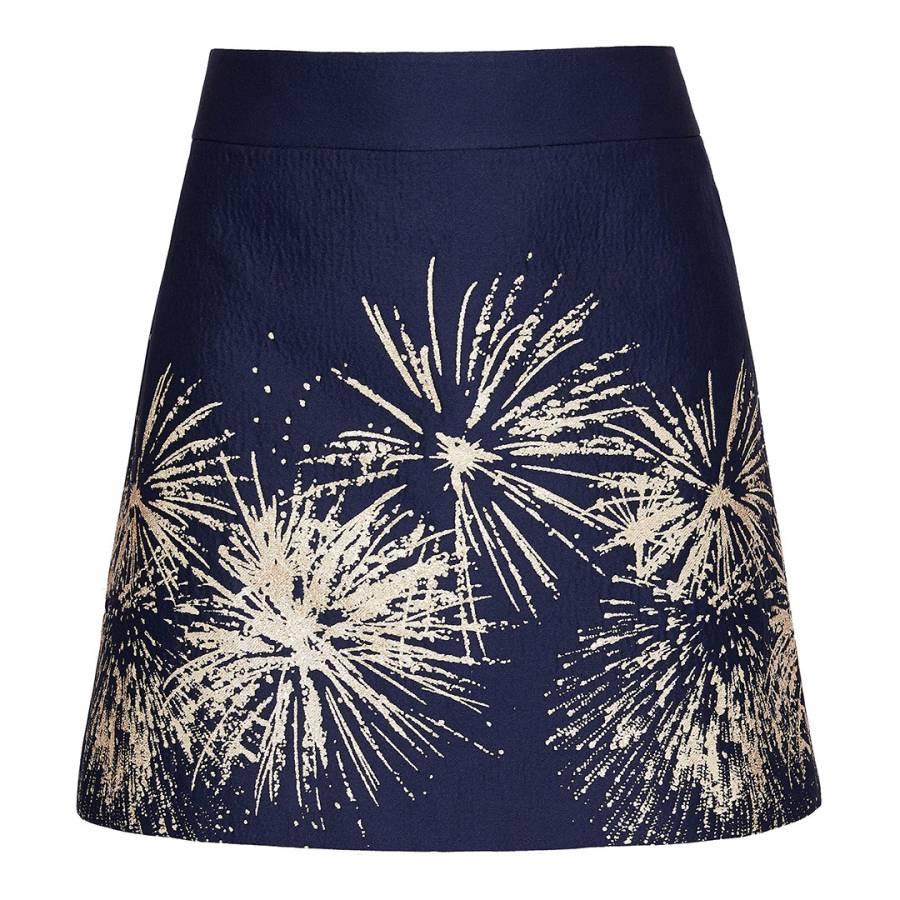 e4a3ea038 Blue Saphia Stardust Mini Skirt - BrandAlley
