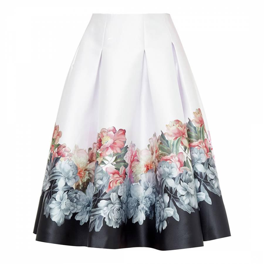 b48ce7bc92 Baby Pink Poppay Scallop Mini Skirt - BrandAlley