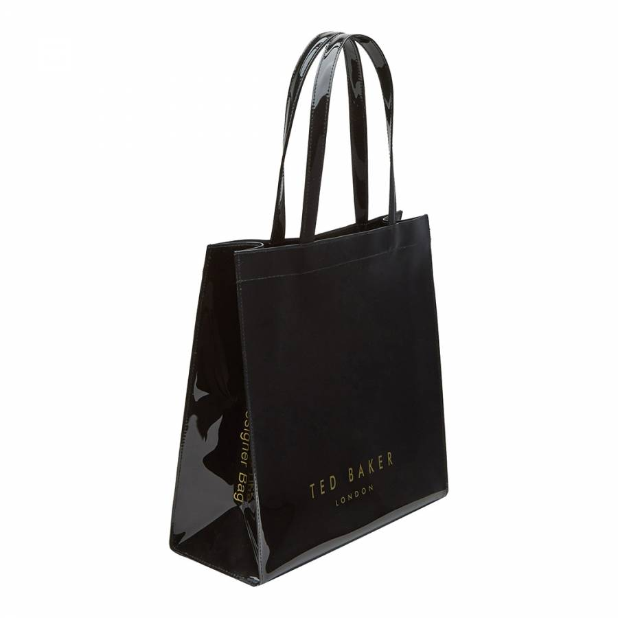 f9031734d Black Bethcon Bow Detail Large Icon Bag - BrandAlley