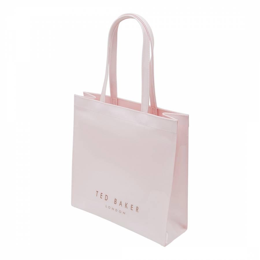 8a5e816ebc79b Dusky Pink Bethcon Bow Detail Large Icon Bag - BrandAlley