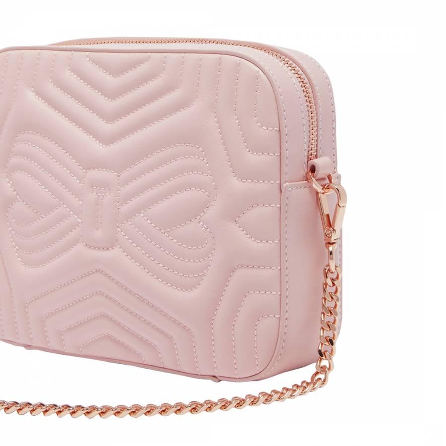 7a8a7b2110 Ted Baker Light Pink Sunshine Quilted Camera Bag. prev