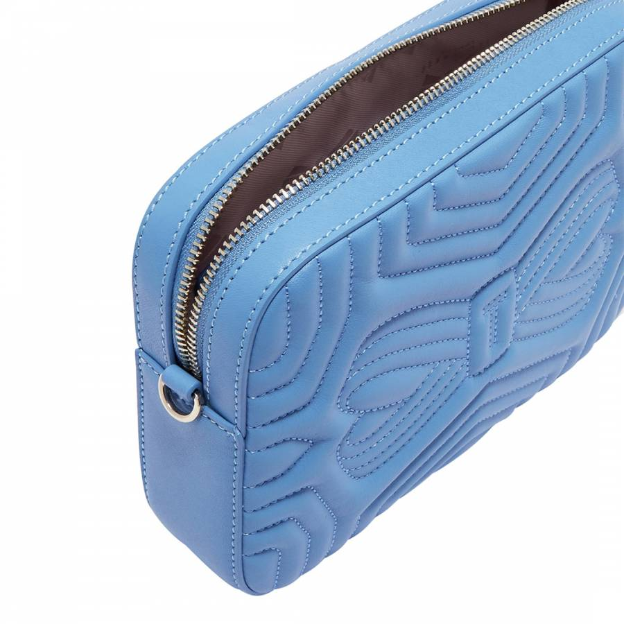 3663fa9704 Pale Blue Sunshine Quilted Camera Bag - BrandAlley