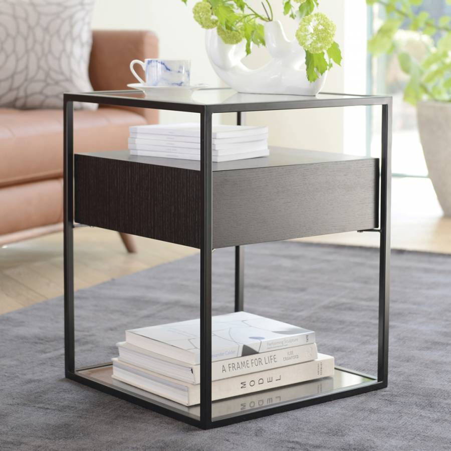 finest selection 16ed1 0f9c1 Drift Side Table, Darkwood