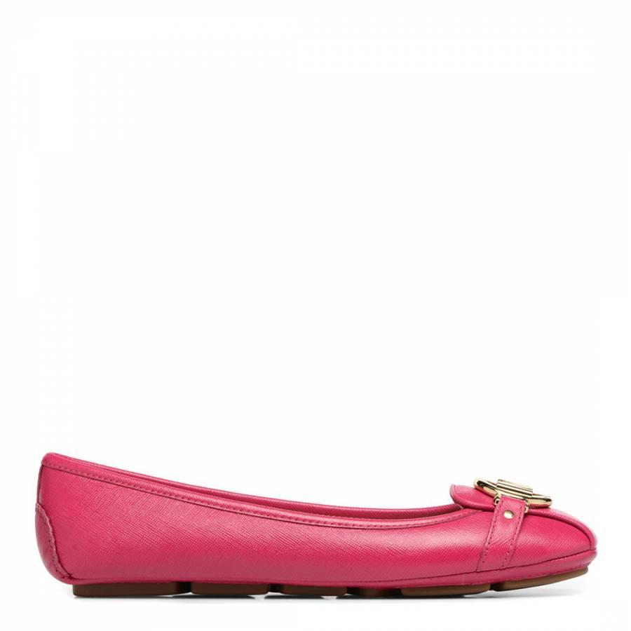 87c0ba935 Pink Saffiano Leather Fulton Mocassins - BrandAlley