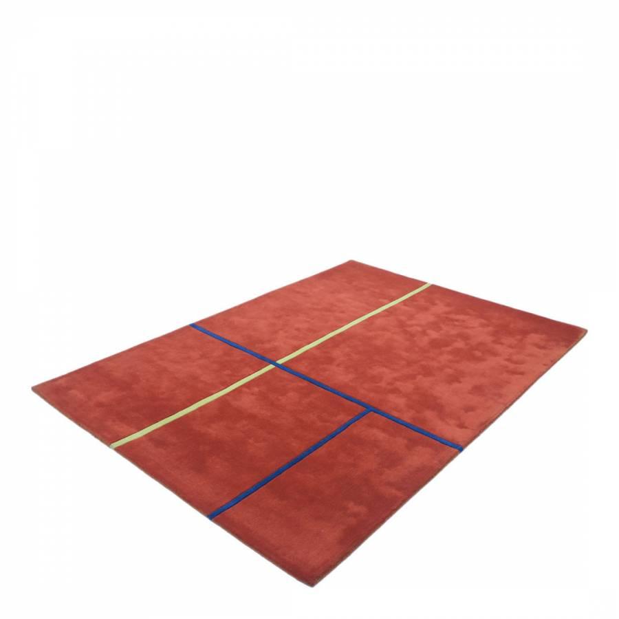 Red/Blue Rug 230x160cm