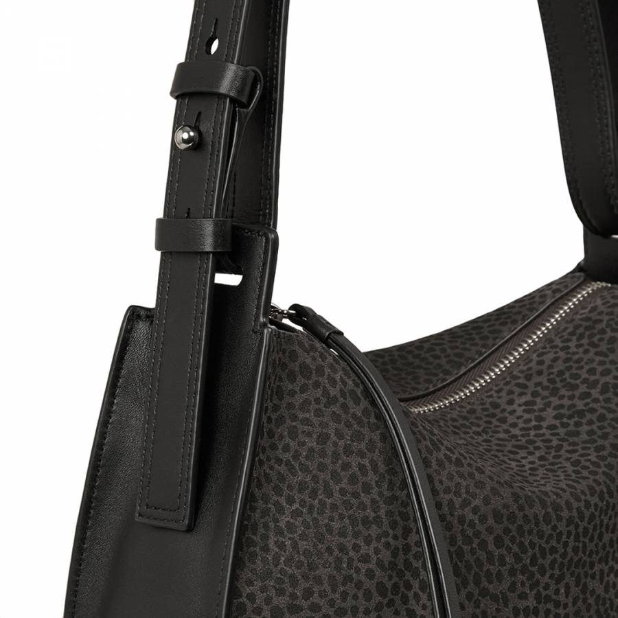 c51fba59dc692 Graphite Grey Echo Mini Hobo Bag - BrandAlley