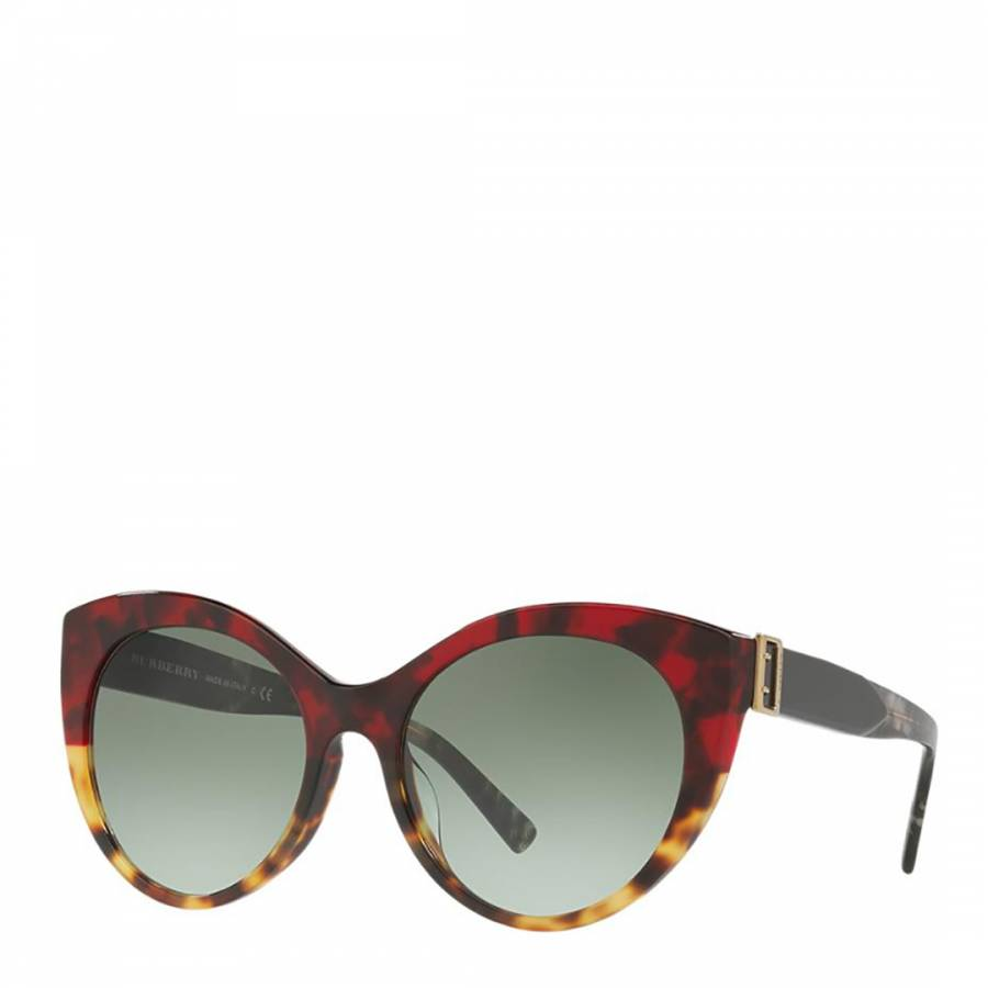 a0c4a59bfc16 Gradient Red/Brown Women's Burberry Sunglasses - BrandAlley