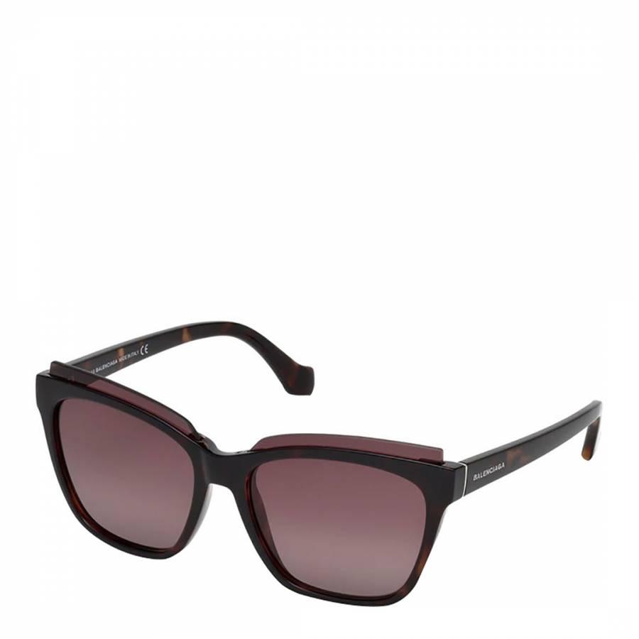 d24be929b8d9 Bordeaux Women s Square Balenciaga Sunglasses - BrandAlley