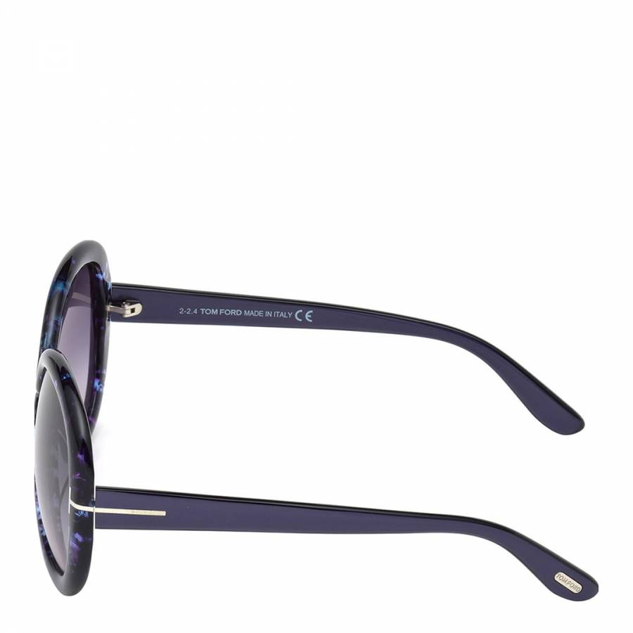d5b367849f1 Women s Purple with Marble Effect Giselle Sunglasses 58mm - BrandAlley