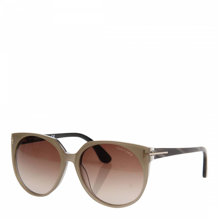 893b707bbd5bb Women s Black Marble Beige Agatha Sunglasses 56mm - BrandAlley