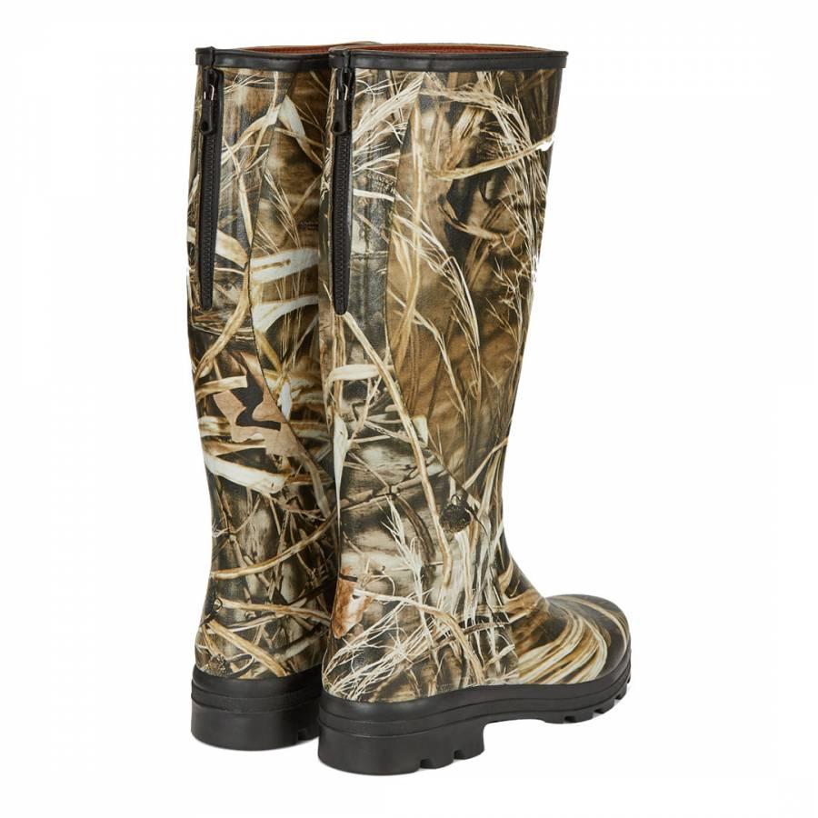 4eef4ecd22a Men's Real Tree Woodland Camo Traqueur Boots - BrandAlley
