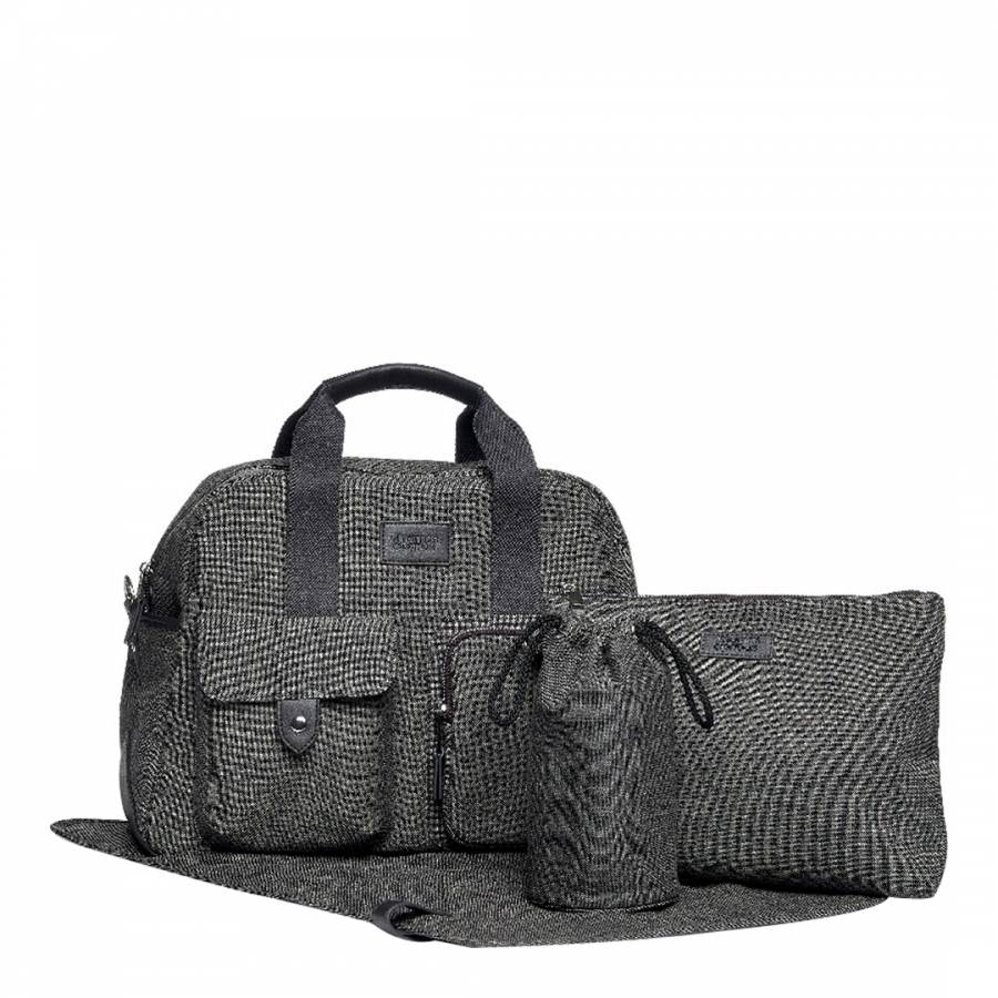 3aa27b69f0ba Mamas   Papas Changing Bag with Bottle Holder - Anthracite