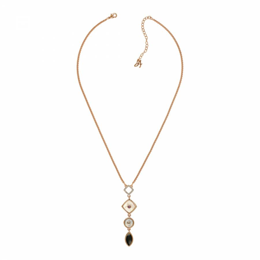 9759c141e Adore Jewellery with Swarovski® Crystals Gold Plated Swarovski Mixed Resin  Necklace